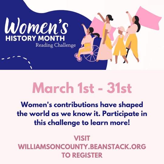 women history challenge reading march