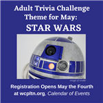 Adult Trivia Challenge for May Star Wars