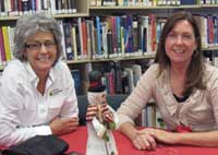 Friends of the Bethesda Library Judy and Rhonda