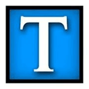 the Tennessean logo, Big T on blue backgroung