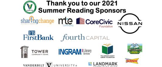 foundation sponsor logos summer reading 2021